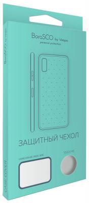 Чехол силиконовый BoraSCO для Samsung Galaxy J8 (прозрачный)