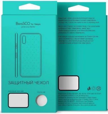 a7ac321570b цены Чехол силиконовый BoraSCO для Honor 7А  Huawei Y5 Prime (2018)  (прозрачный