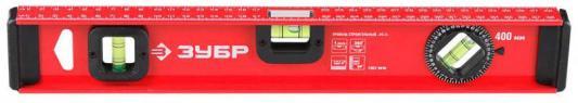 Уровень ЗУБР 4-34583-040 мастер двутавровый усиленный 3 глазка (один поворотный) 40см уровень зубр мастер торпедо 230mm 3459