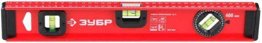 Уровень ЗУБР 4-34583-060 мастер двутавровый усиленный 3 глазка (один поворотный) 60см уровень зубр мастер торпедо 230mm 3459