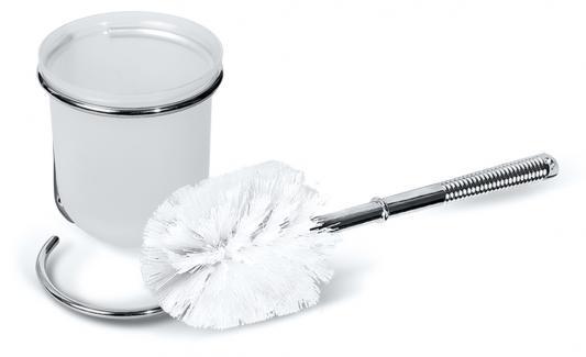 Комплект для туалета TATKRAFT 11205 lilia с подставкой хром. сталь/пластик н35см
