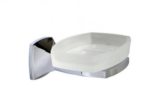Мыльница WasserKRAFT Wern K-2529 стекло ш/г/в- 11х11.7х5.8 cm гл.хром мат.латунь мыльница wasserkraft wern k 2529 хром матовое стекло