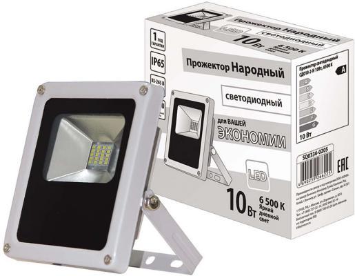 цена на Прожектор светодиодный ТДМ SQ0336-0205 СДО10-2-Н 10Вт 6500К серый