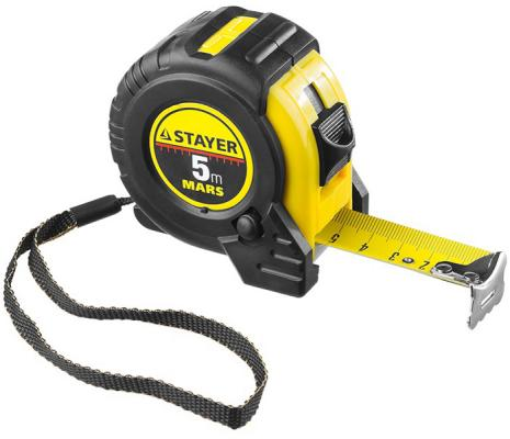 Рулетка Stayer 34131-10_z01 10мx25мм рулетка topex 27c310 10мx25мм
