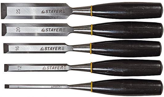 Стамеска Stayer 1820-H5 6 мм 12 мм 16 мм 20 мм 25 мм полиуретановый полутерок 120x1000 мм stayer 0812 12 100