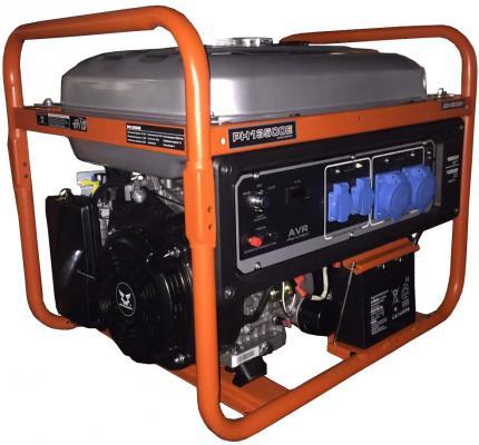 Генератор бензиновый Zongshen PH 13500 E 220 В, кВт 9