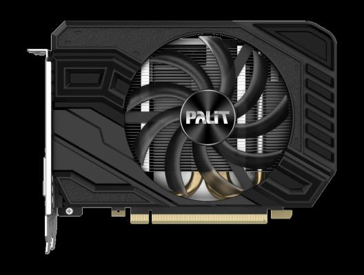 Видеокарта Palit PCI-E PA-RTX2060 STORMX 6G nVidia GeForce RTX 2060 6144Mb 192bit GDDR6 1365/14000 DVIx1/HDMIx1/DPx1/HDCP Ret видеокарта asus pci e gt740 dcsl 2gd3 nvidia geforce gt 740 2048mb 128bit ddr3 993 1782 dvix1 hdmix1 crtx1 hdcp ret