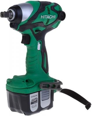 Гайковерт аккумуляторный HITACHI WR14DL2R4 ударный 130 нм 4.0 а/ч 14.4в без аккумулятора hitachi wh18dsl аккумуляторный ударный шуруповерт