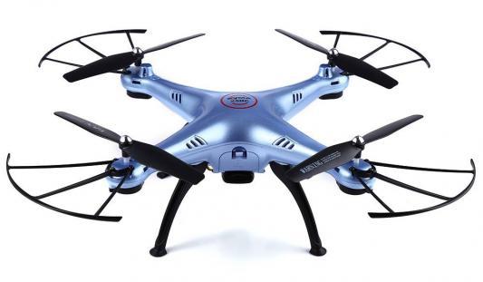 Квадрокоптер Syma X5HC, синий