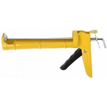 Пистолет для герметика STAYER 0660 310мл standard полукорпусной гладкий шток пистолет для гермертика 310мл 1901001