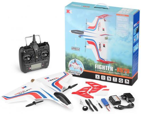 Самолёт на радиоуправлении WLToys X520 пластик от 12 лет белый