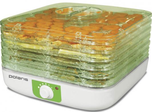 Сушилка для овощей и фруктов Polaris PFD 0405 белый салатовый из ремонта первые прописи с крупными буквами