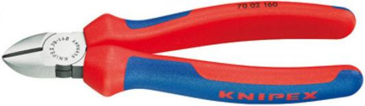 Кусачки KNIPEX KN-7002125 боковые фосфатированные 125mm цена
