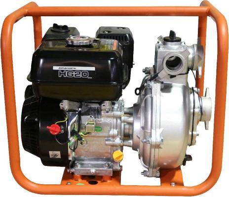 Мотопомпа бензиновая Zongshen HG 20 500 л/мин мотопомпа hammer flex mtp285 2 4 х такт 3 6 л с 500 л мин