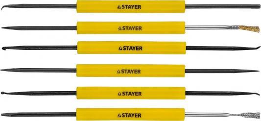 Набор инструментов STAYER 55338-H12 набор радиомонтажника maxterm 12в1