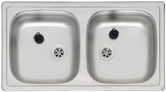 Мойка кухонная REGINOX Beta 20 LUX SPOSP (pallet) мойка780х430мм чаши330х350мм глуб.145мм тумба800м цена 2017