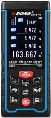 Дальномер SNDWAY SW-S100 100 м лазерный дальномер sndway sw 60 60m sw 60