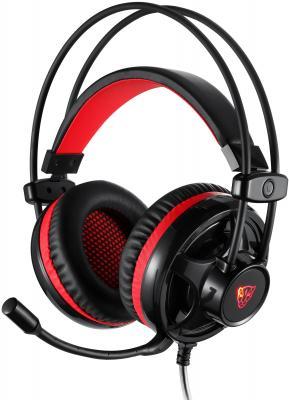 все цены на Игровая гарнитура проводная Motospeed H11 черный красный онлайн