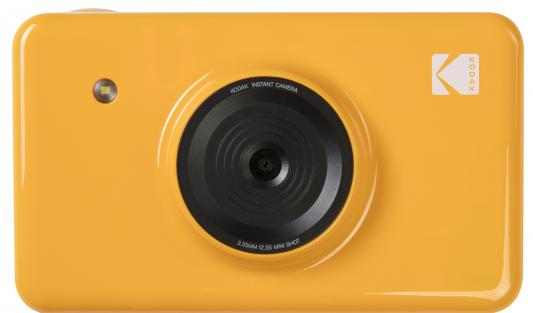 Моментальная фотокамера Kodak Mini Shot, желтая телефон kodak