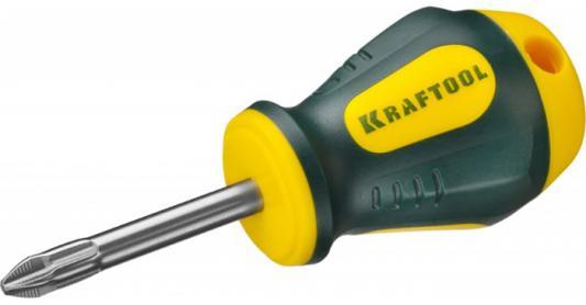 "Отвертка KRAFTOOL ""EXPERT"", Cr-Mo-V сталь, двухкомпонентная противоскользящая рукоятка, PH, №2x38 мм [250072-2-038] цена"