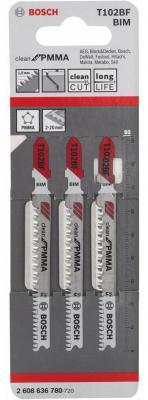 Bosch 2608636780 Набор пил 3шт T102BF CleanPMMA цены