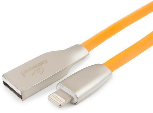 Кабель Lightning 1м Cablexpert CC-G-APUSB01O-1M круглый оранжевый