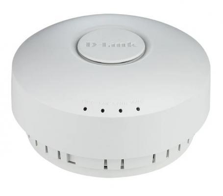 Точка доступа D-Link DWL-6610AP/RU/B1A AC1200 1000BASE-T белый межсетевой экран d link dsr 500 b1a гигабитный сервисный маршрутизатор с резервированием wan портов