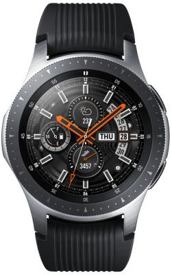 Смарт-часы Samsung Galaxy Watch 46мм 1.3 Super AMOLED серебристый (SM-R800NZSASER) смарт часы samsung galaxy gear fit 2 pro 1 5 super amoled черный sm r365nzraser