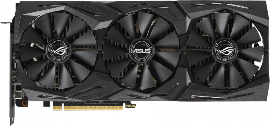 Видеокарта ASUS nVidia GeForce RTX 2070 ROG STRIX GAMING PCI-E 8192Mb GDDR6 256 Bit Retail (ROG-STRIX-RTX2070-8G-GAMING)