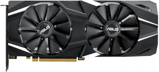 Видеокарта Asus PCI-E DUAL-RTX2080-8G nVidia GeForce RTX 2080 8192Mb 256bit GDDR6 1515/14000/HDMIx1/DPx3/Type-Cx1/HDCP Ret  - купить со скидкой