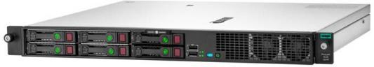 Сервер HPE ProLiant DL20 Gen10 1xE-2136 1x16Gb S100i 1G 2Р 1x500W (P06478-B21) цена