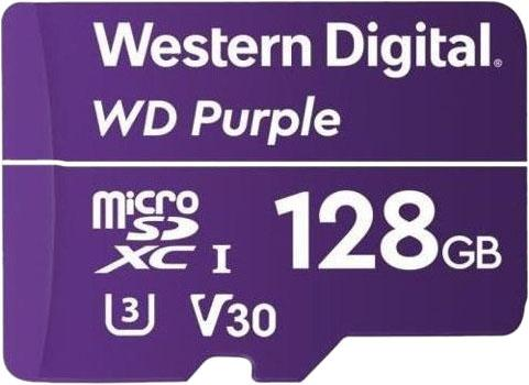 Флеш карта microSDXC 128Gb Class10 WD WDD128G1P0A Purple w/o adapter shure cvb w o