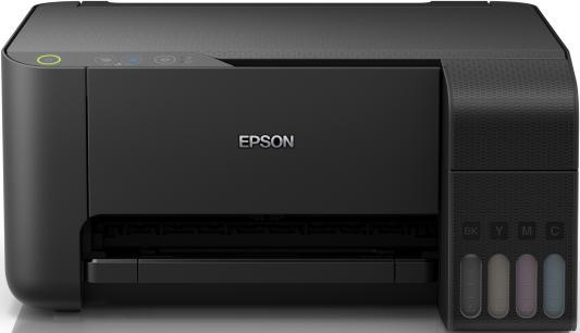 цена на МФУ струйный Epson L3110 (C11CG87405) A4 USB черный