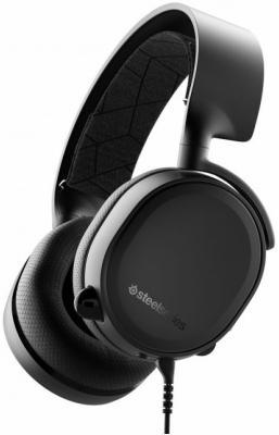 Игровая гарнитура проводная Steelseries Arctis 3 2019 Edition черный компьютерная гарнитура steelseries arctis 7 черный