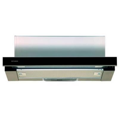 Вытяжка встраиваемая Faber Flox GLASS BK A60 черный