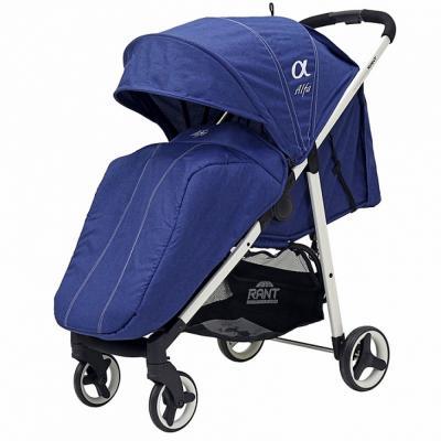 Прогулочная коляска Rant Alfa (alu blue) коляска прогулочная rant molly alu jeans blue