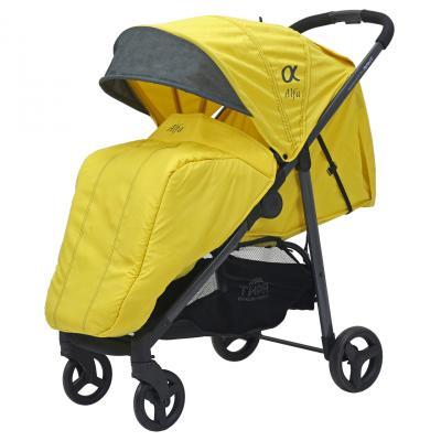 Прогулочная коляска Rant Alfa (alu yellow) коляска прогулочная rant molly alu jeans blue