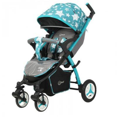 Прогулочная коляска Rant Cosmic Air Alu (stars aquamarine) прогулочная коляска rant alfa alu black