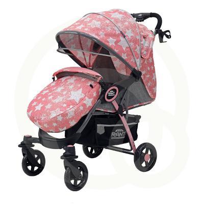 Прогулочная коляска Rant Elen (stars pink) соска пустышка nuk happy kids 6 18 мес 2 шт