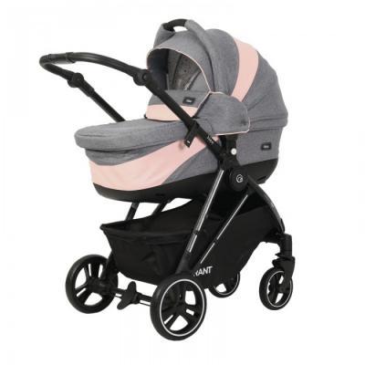 Купить Коляска 2-в-1 Rant Neo (grey/pink), серый/розовый, Коляски 2 в 1