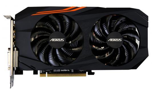 Видеокарта GigaByte Radeon RX 570 GV-RX570AORUS-4GD PCI-E 4096Mb 256 Bit Retail из ремонта цена и фото