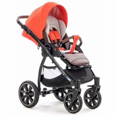Прогулочная коляска Noordi Sole Sport NB+ (цвет orange red/новая рама) б/у