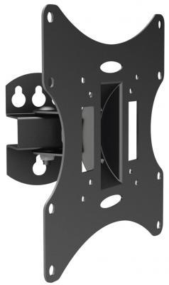 Кронштейн ARM Media LCD-201 черный 10''-37'' максимальная нагрузка 30 кг поврежденная упаковка цена