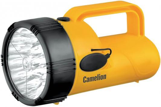 Camelion LED29314 (фонарь аккум. 220В, желтый, 19 LED, 4В 2,3А-ч, пластик, коробка) фонарь camelion led5107 9