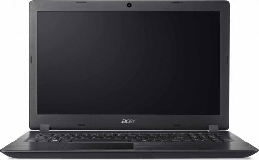 "Ноутбук Acer Aspire A315-51-382R Core i3 7020U/4Gb/1Tb/SSD128Gb/Intel HD Graphics 620/15.6""/FHD (1920x1080)/Windows 10/black/WiFi/BT/Cam цена"