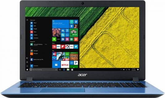 "Ноутбук Acer Aspire A315-51-54PD Core i5 7200U/4Gb/SSD128Gb/Intel HD Graphics 620/15.6""/HD (1366x768)/Windows 10/blue/WiFi/BT/Cam цена"