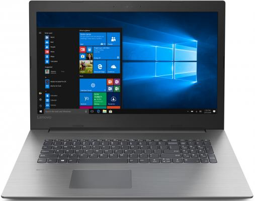 Ноутбук Lenovo IdeaPad 330-17ICH Core i7 8750H/8Gb/1Tb/SSD128Gb/nVidia GeForce GTX 1050 2Gb/17.3/IPS/FHD (1920x1080)/Free DOS/black/WiFi/BT/Cam аксессуар удлинитель телескопический lumiix gp55 для gopro hero 3 3 2 1 tripod