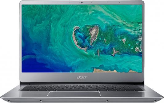 Ноутбук Acer SF314-56-5403 Swift 3 14.0'' FHD(1920x1080) IPS/Intel Core i5-8265U 1.60GHz Quad/8GB/256GB SSD/GMA HD/noDVD/WiFi/BT/1.0MP/SDXC/Fingerprint/4cell/1.45kg/Linux/1Y/SILVER цена