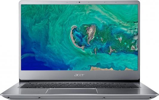 Ноутбук Acer SF314-56-33SJ Swift 3 14.0'' FHD(1920x1080) IPS/Intel Core i3-8145U 2.10GHz Dual/8GB/128GB SSD/GMA HD/noDVD/WiFi/BT/1.0MP/SDXC/Fingerprint/4cell/1.45kg/W10/1Y/SILVER цена и фото