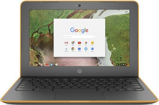 HP ChromeBook 11 G6 Celeron N3350 1.1GHz,11.6 HD (1366x768) Touch BV,4Gb DDR4,16Gb,45Wh LL,1.3kg,1y,Delicate Orange Textured,ChromeOS double handle textured bag